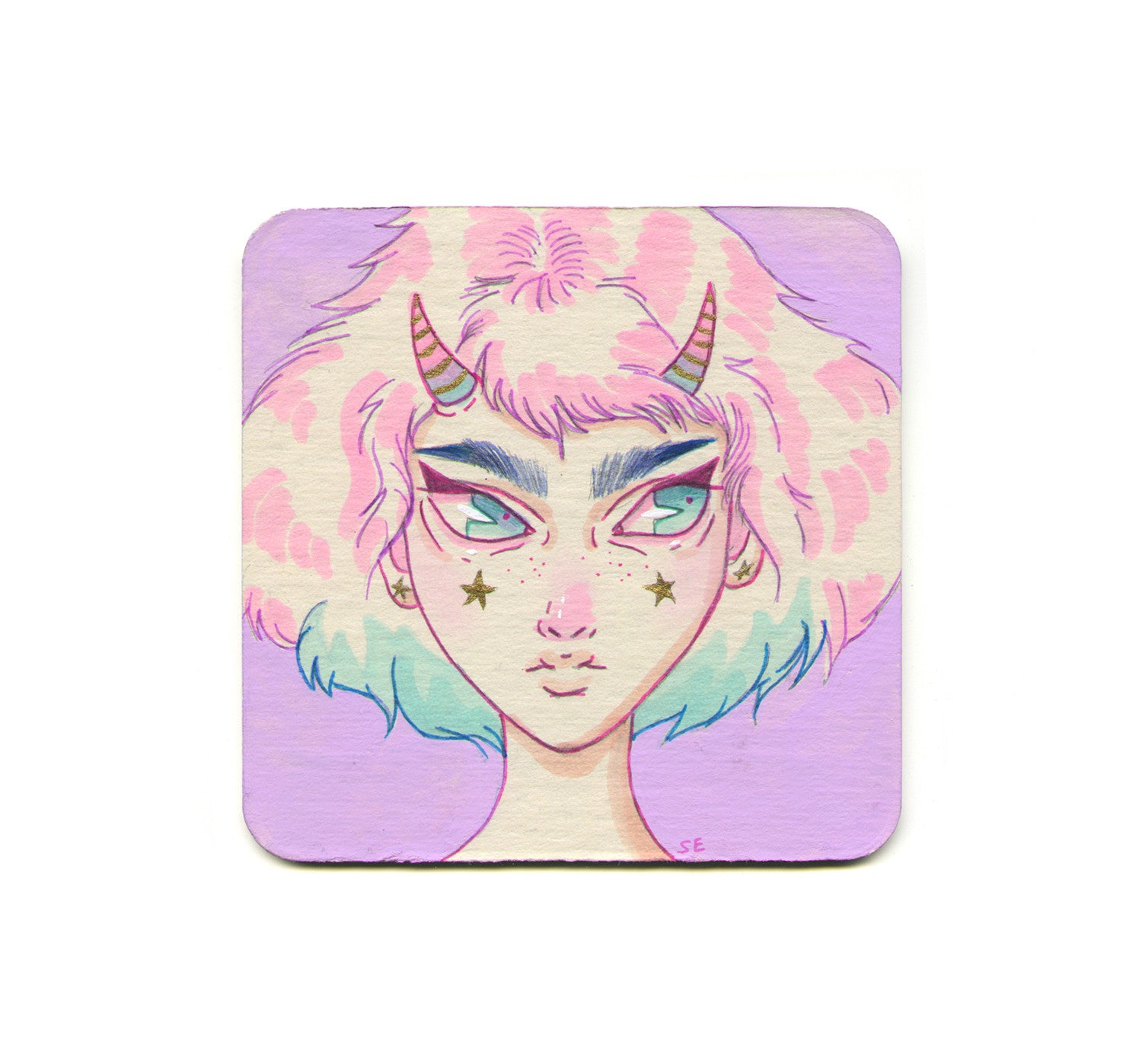 S1 Sabrina Elliott - Star Gazer Coaster