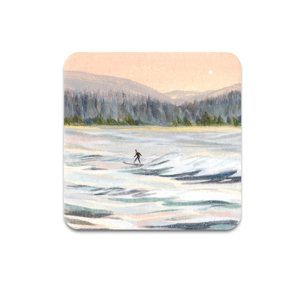 Sally Deng - PNW Surf 1 Coaster