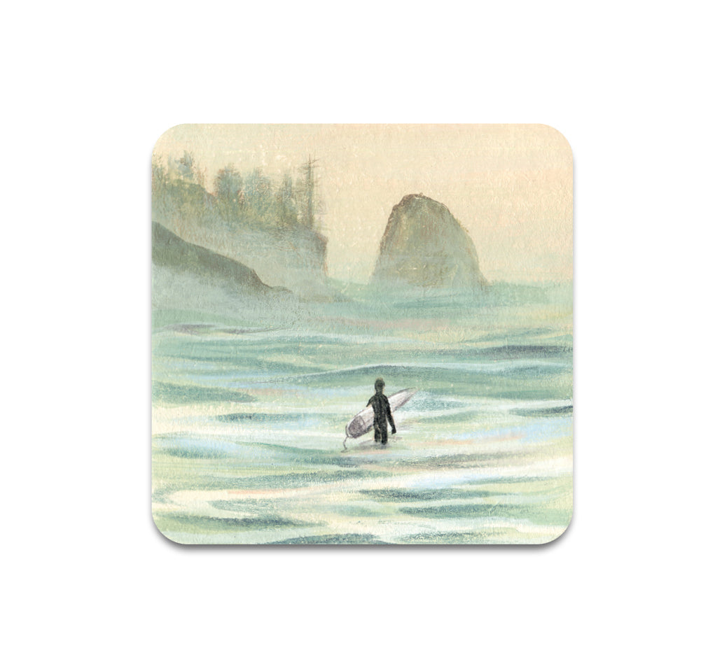 Sally Deng - PNW Surf 6 Coaster