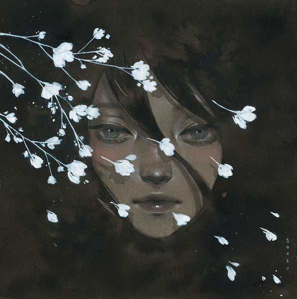 Shoko Ishida - Before The Night Falls Print