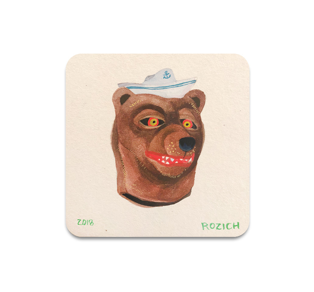 S3 Stacey Rozich - Mask 2 Coaster