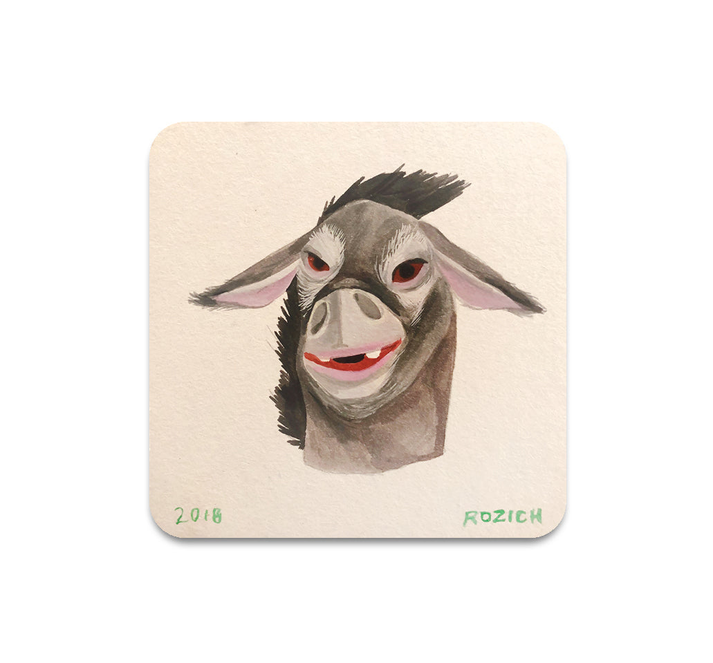 Stacey Rozich - Mask 3 Coaster
