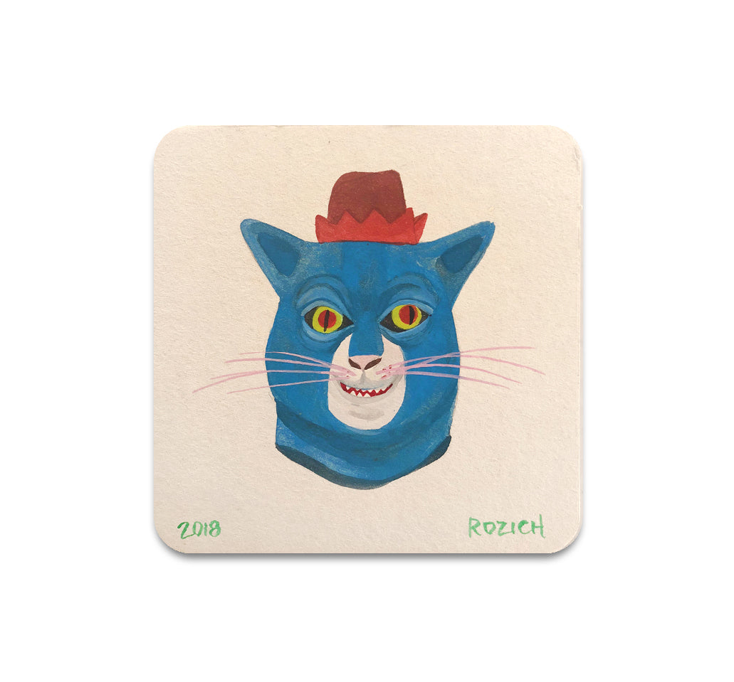 Stacey Rozich - Mask 4 Coaster