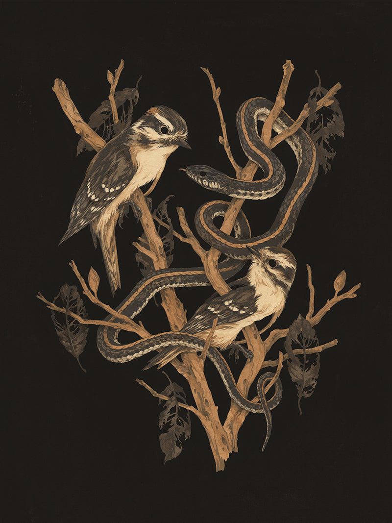 Teagan White - Tangled Ghosts Print