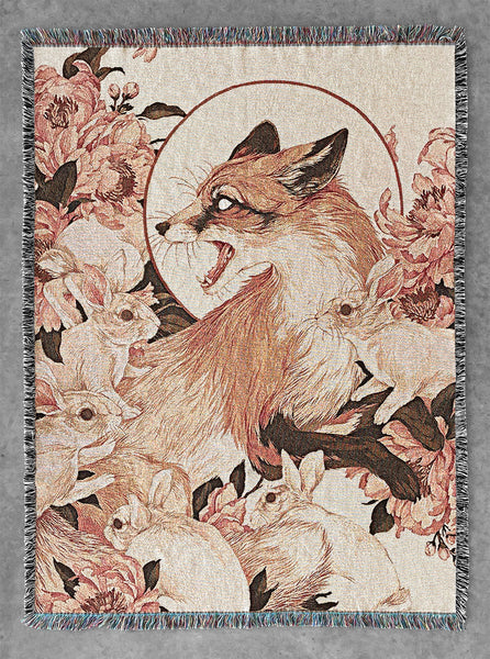 Teagan White - Fox Blanket Tapestry