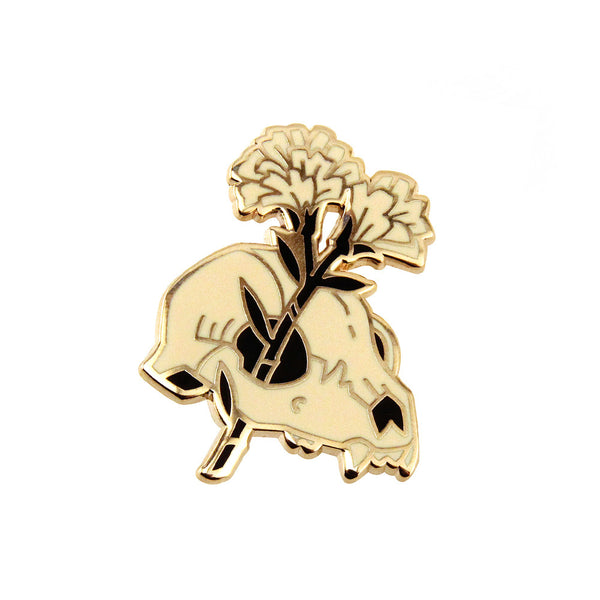 TEAGAN WHITE - LITTLE FUNERAL ENAMEL PIN