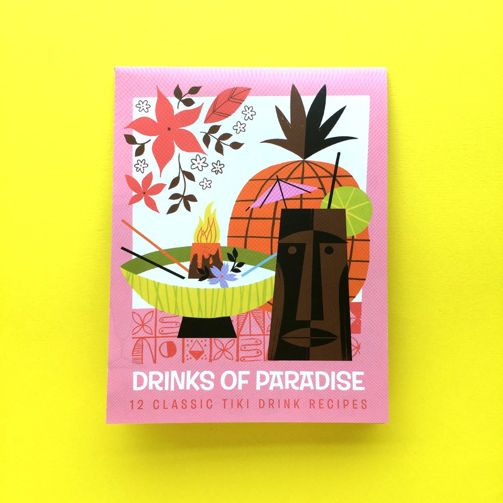 Ellen Surrey - Drinks of Paradise Recipes