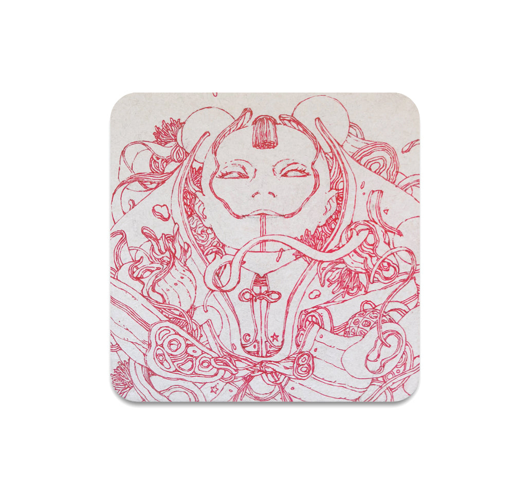 Tobias Kwan - Untitled 4 Coaster