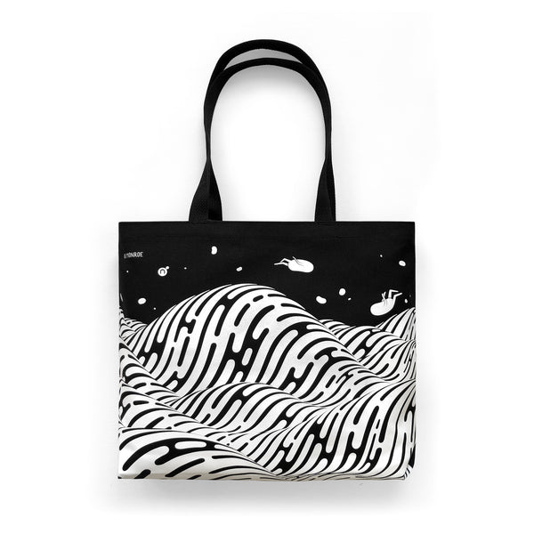 Brendan Monroe - Waves Tote (2-Sided Print)