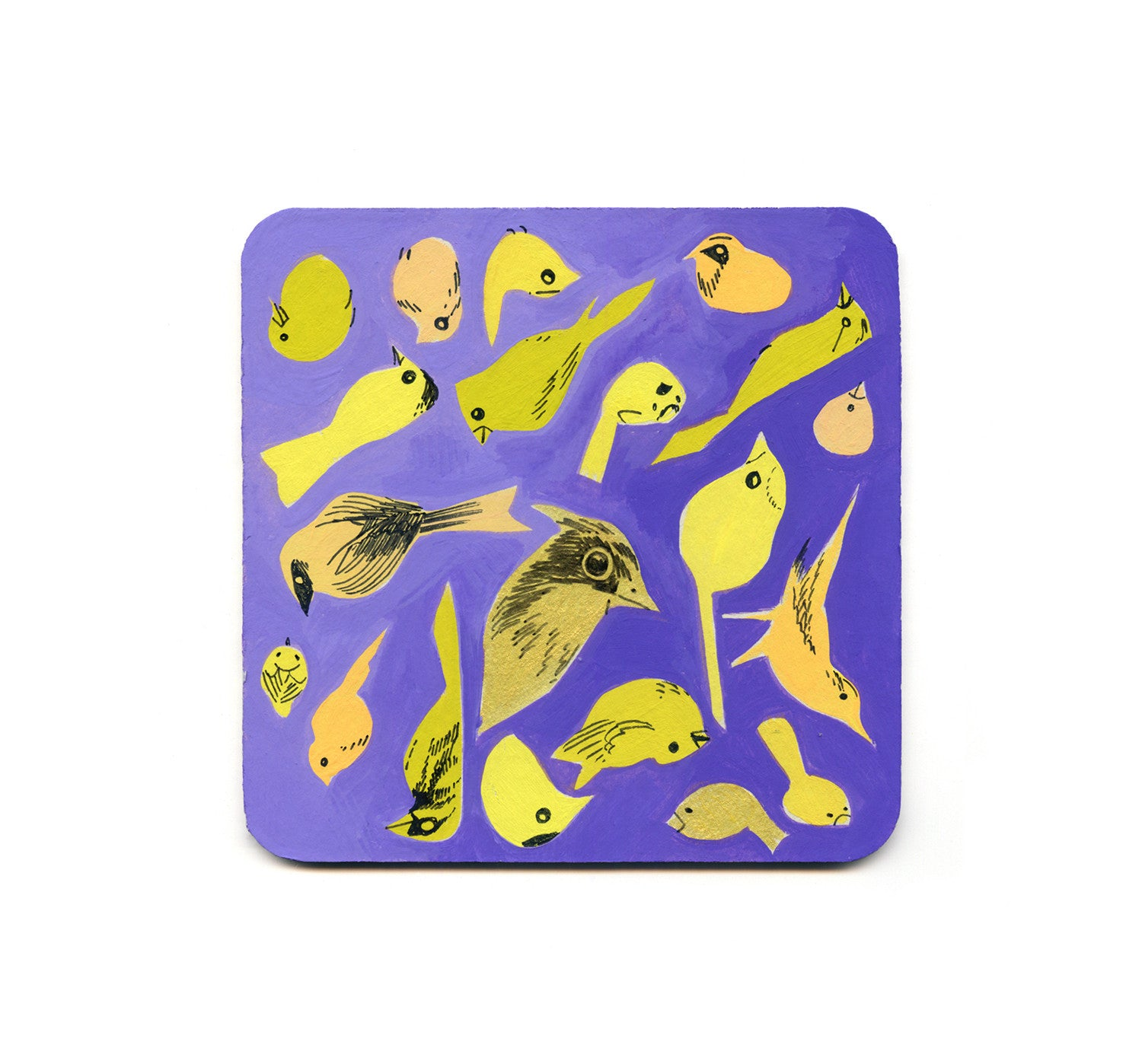 Veronica Fish - Warblers Coaster