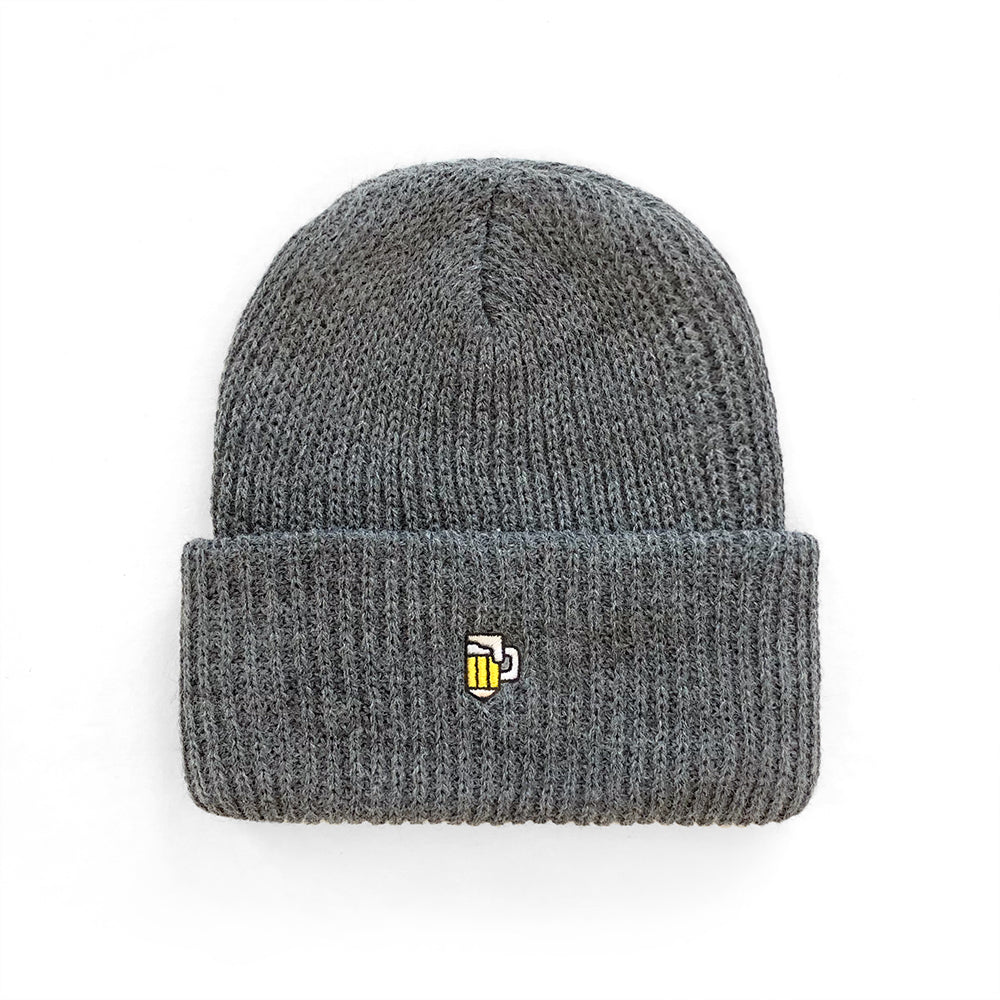 Drink and Draw Watch Cap - Dark Grey