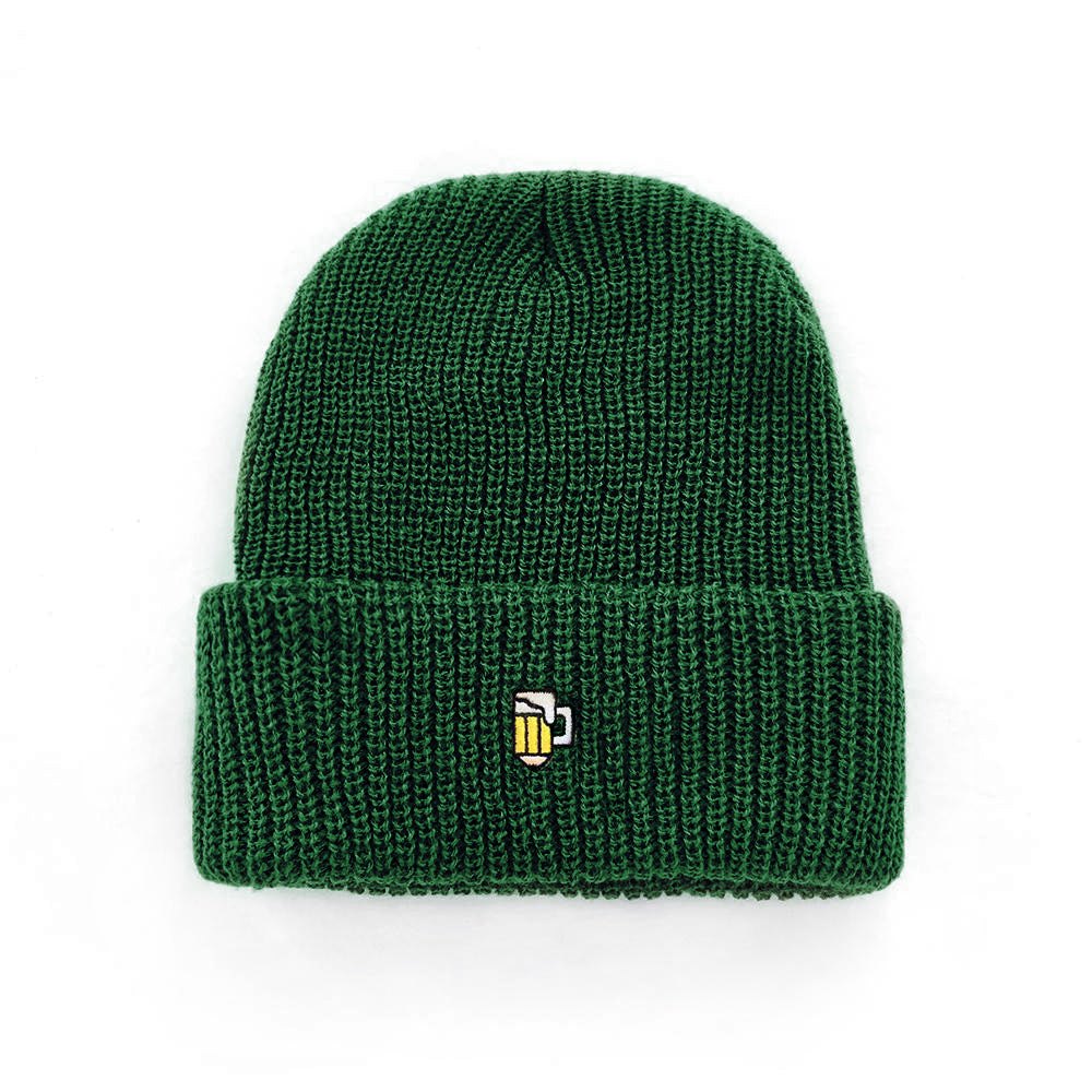 Drink and Draw Watch Cap - Forest Green
