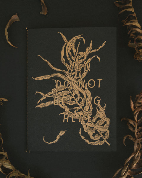 Teagan White - You Do Not Belong Here Zine