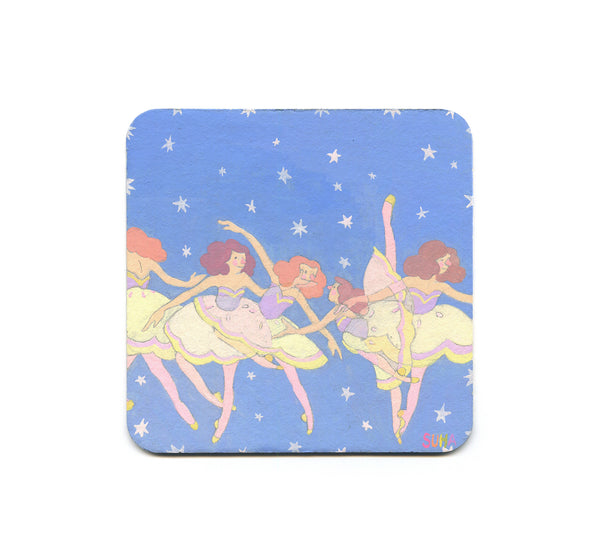 Amy Kuttab - Cobalt Blues 3 Coaster
