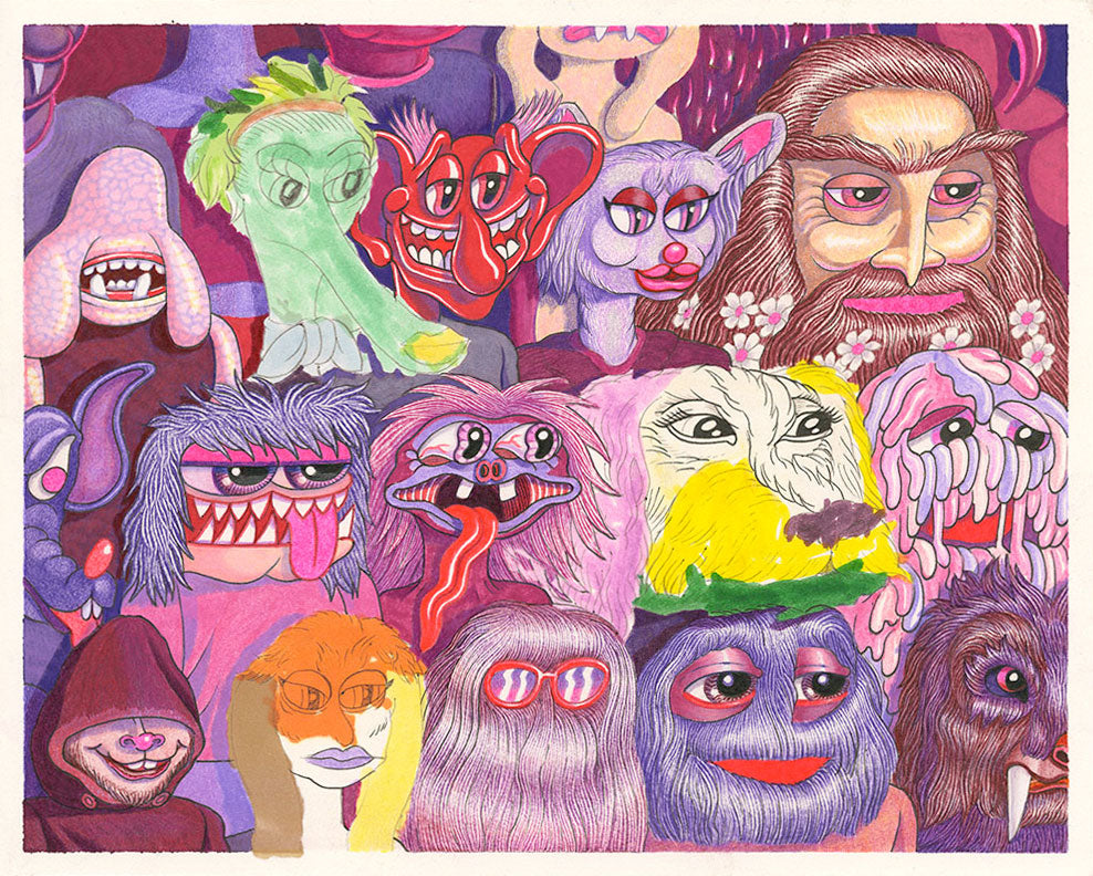Matt Furie - Cafe Ursula