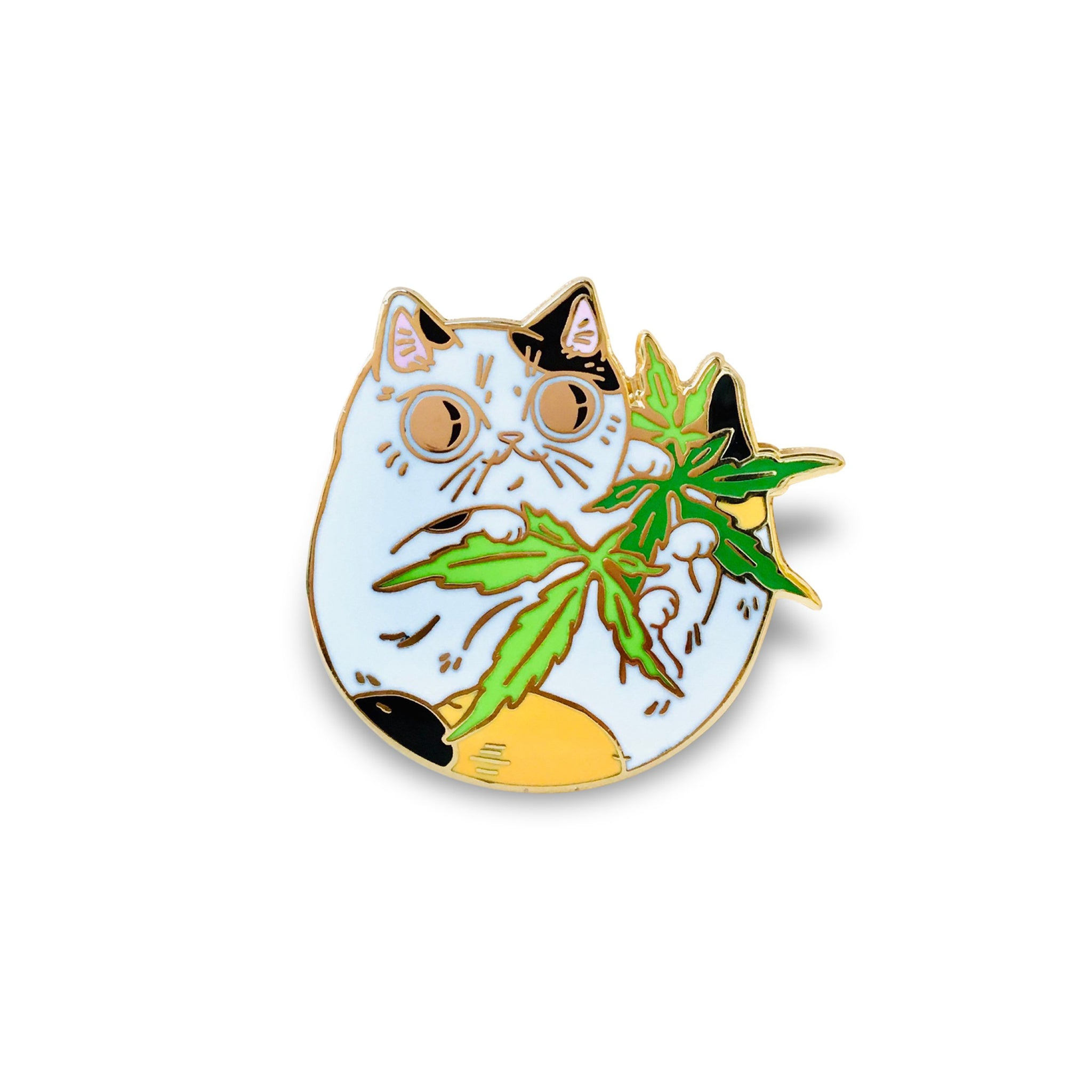 Paper Puffin - Cannabis Cat