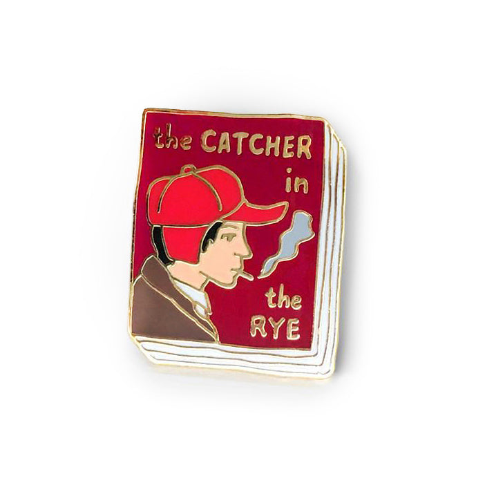 Ideal Bookshelf - The Catcher and the Rye Pin