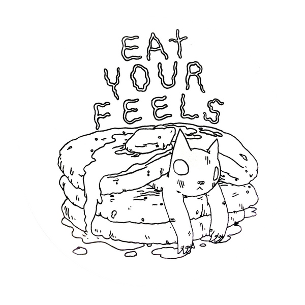 Deth Sun - Eat Your Feels Sticker