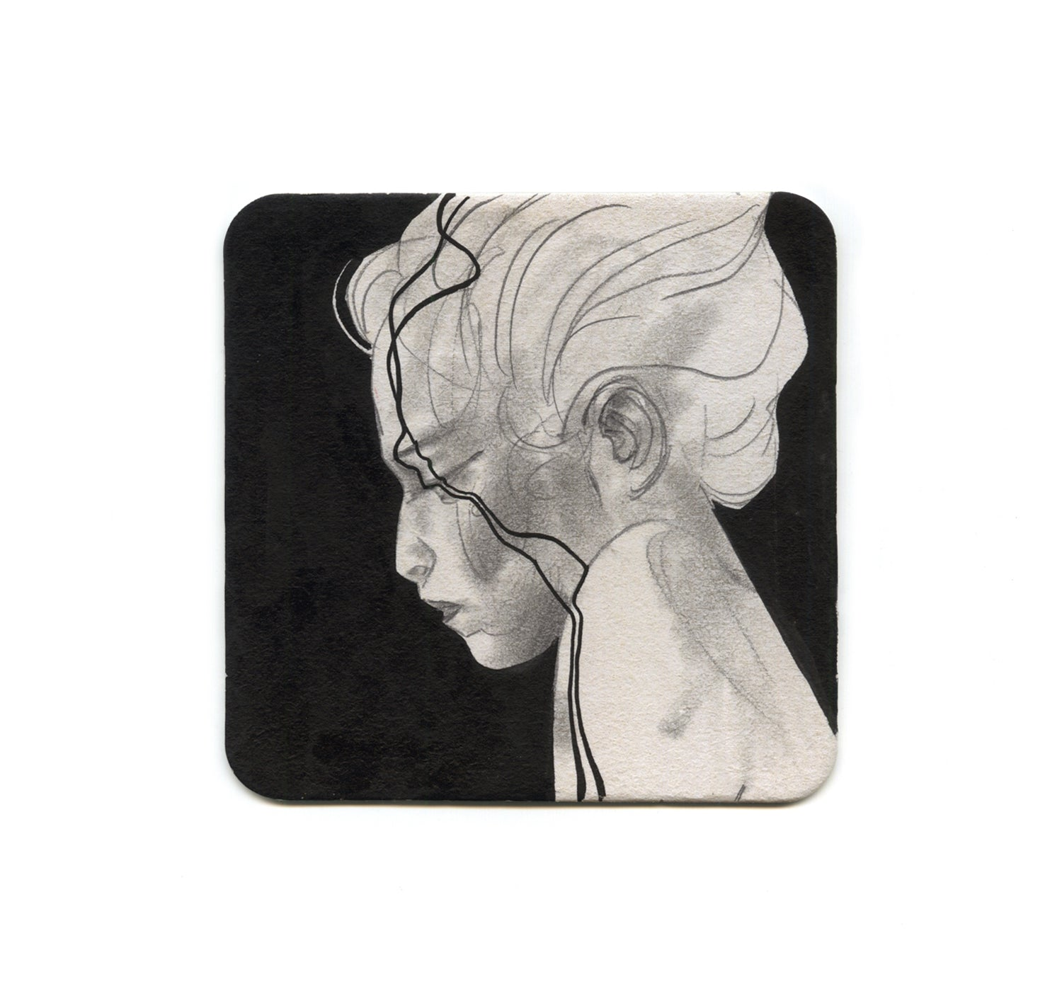 S2 Eliza Ivanova - Untitled 2 Coaster