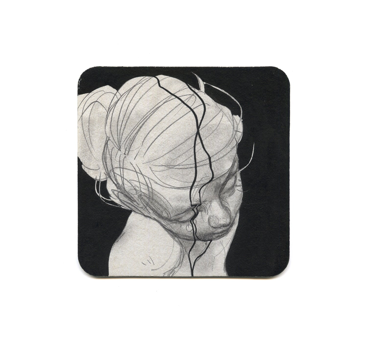 Eliza Ivanova - Untitled 5 Coaster