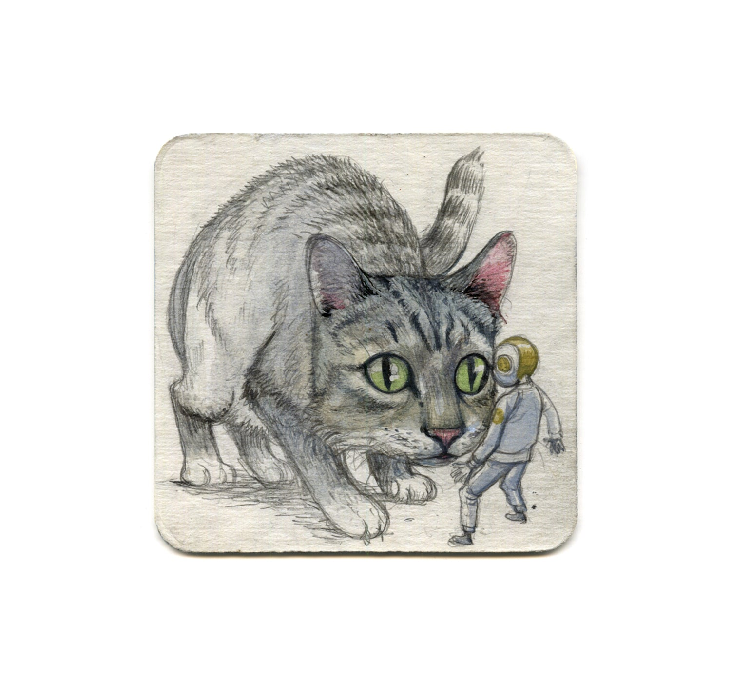 Farel Dalrymple - I Can't Stop Thinking Of Me Thinking Of You Coaster
