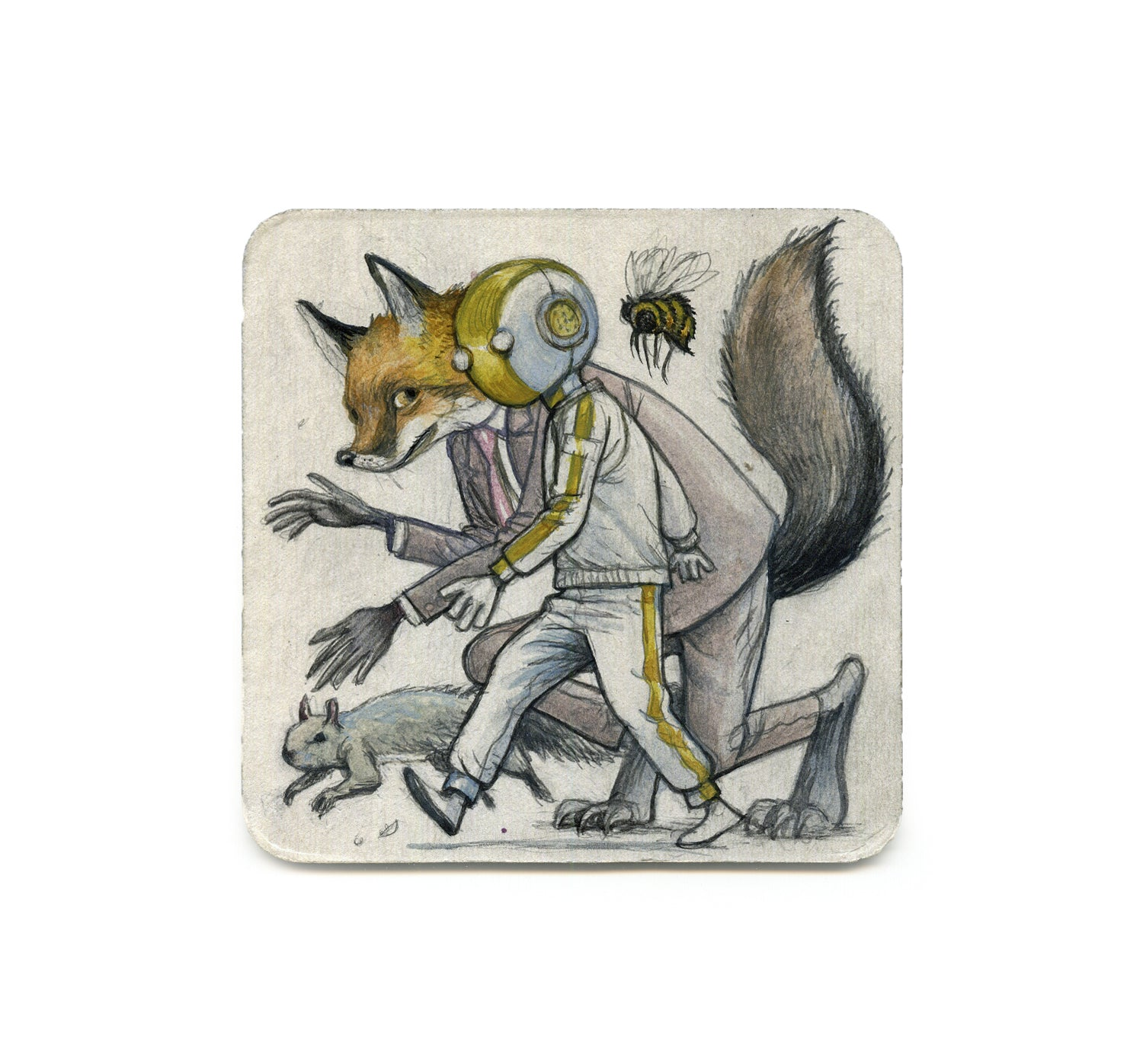 S2 Farel Dalrymple - Forgetting Jacked-Up Everything Coaster