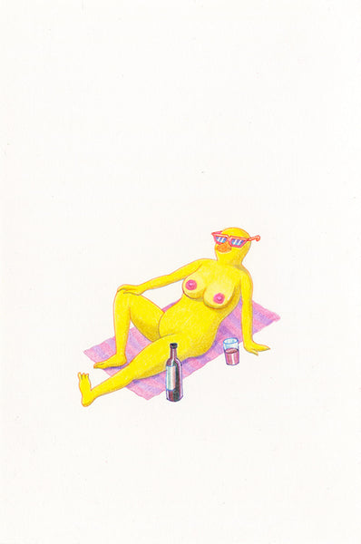 Matt Furie - French Chick