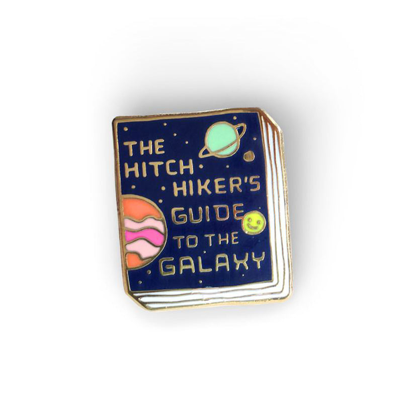 Ideal Bookshelf - The Hitchhiker's Guide to the Galaxy