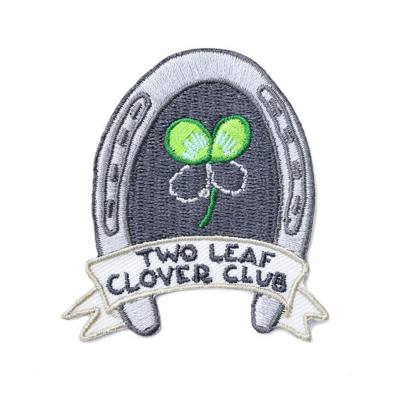 Two Leaf Clover Club Patch