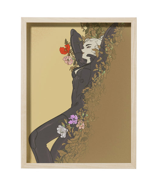 Perry Dixon Maple - Lay Back Framed Print