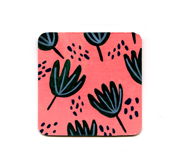 S1 Jennifer Bouron - Plant Pattern Coaster