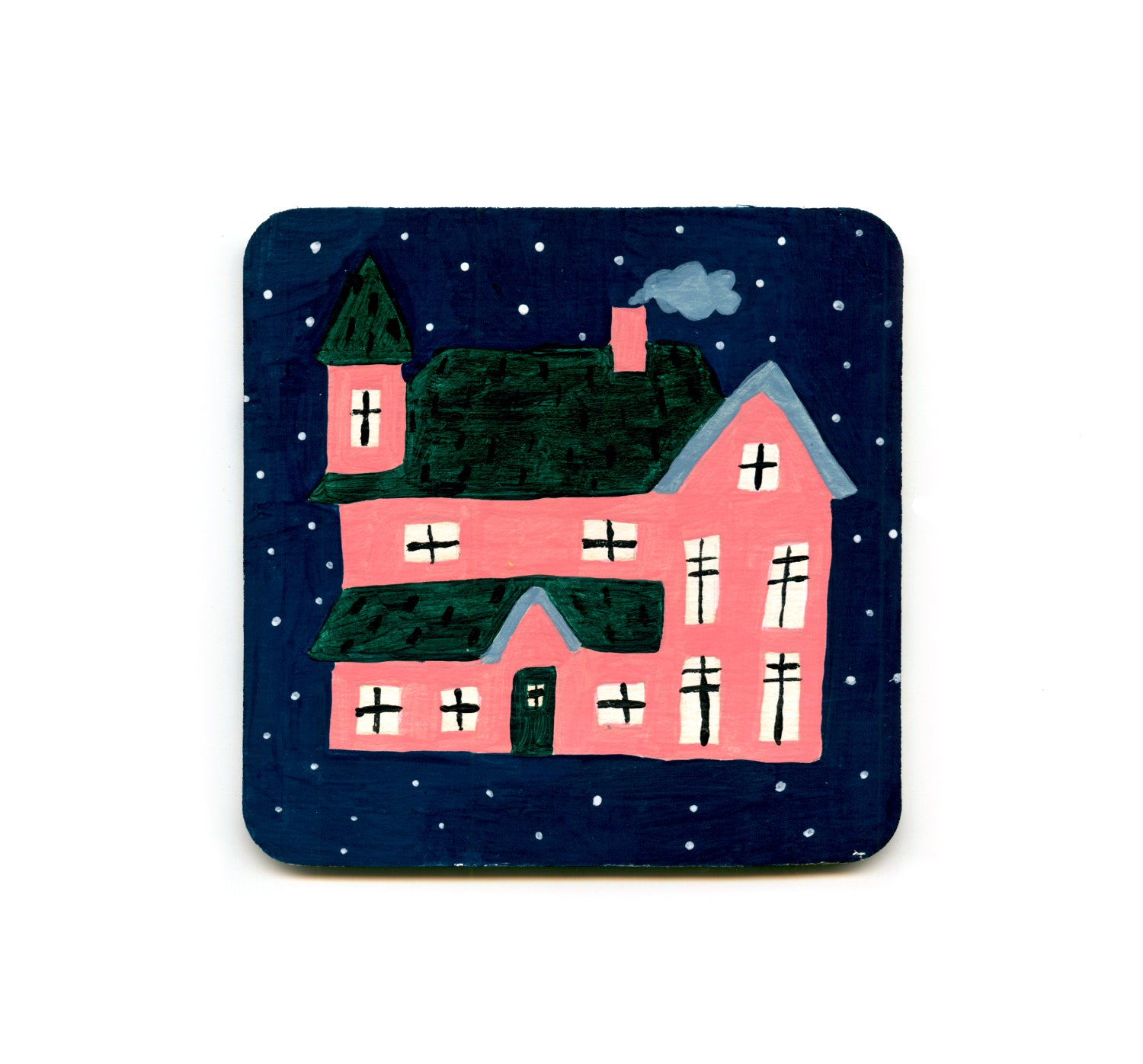 S1 Jennifer Bouron - The House Coaster