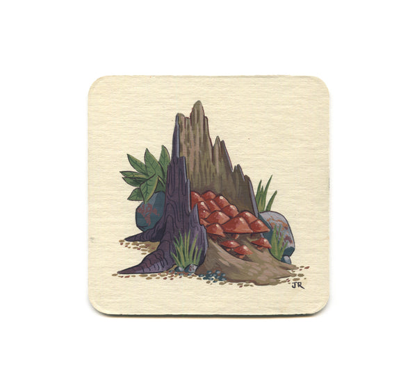S1 Jesse Riggle - Mushrooms 3 Coaster