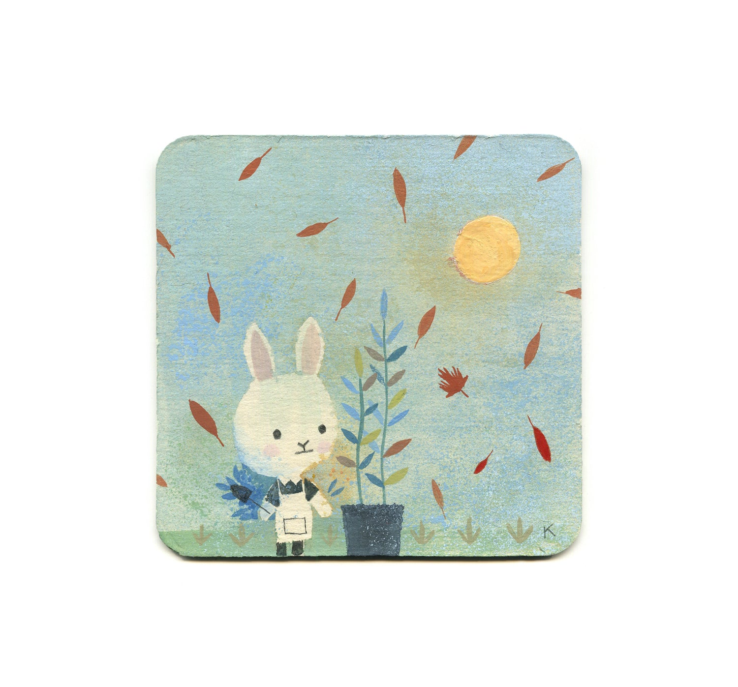 Kenard Pak - Bun And Pot Coaster