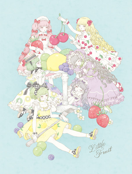 Kira Imai - Little Fruit Print