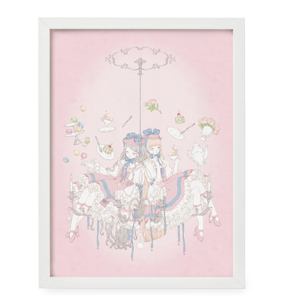 Kira Imai - Magic and Tea Framed Print