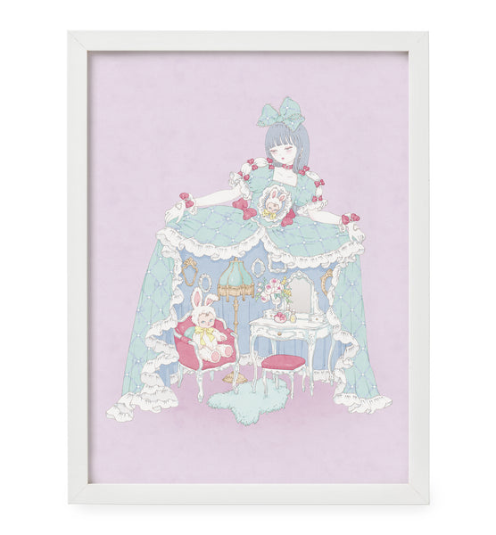 Kira Imai - My Dollhouse Framed Print