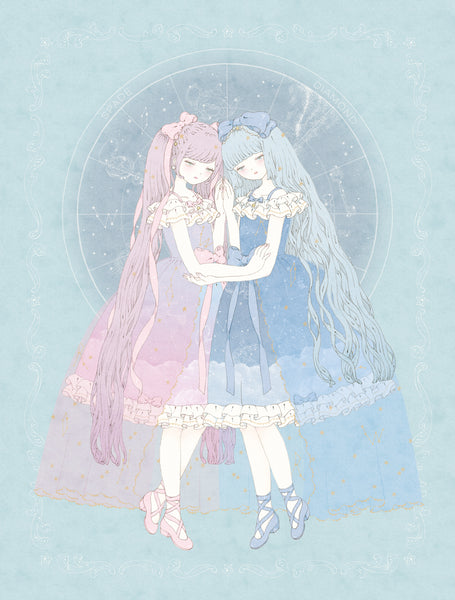 Kira Imai - Night Sky Of Wonderland Print