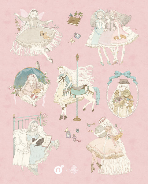 Kira Imai - Sticker Sheet
