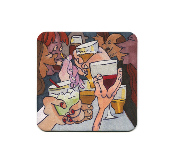 S1 Lindsey Olivares - Good Drinks Coaster