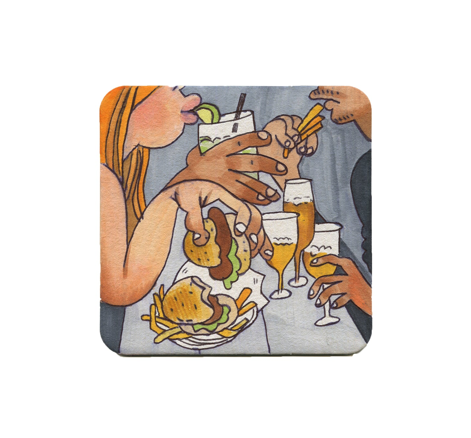 S1 Lindsey Olivares - Good Food Coaster