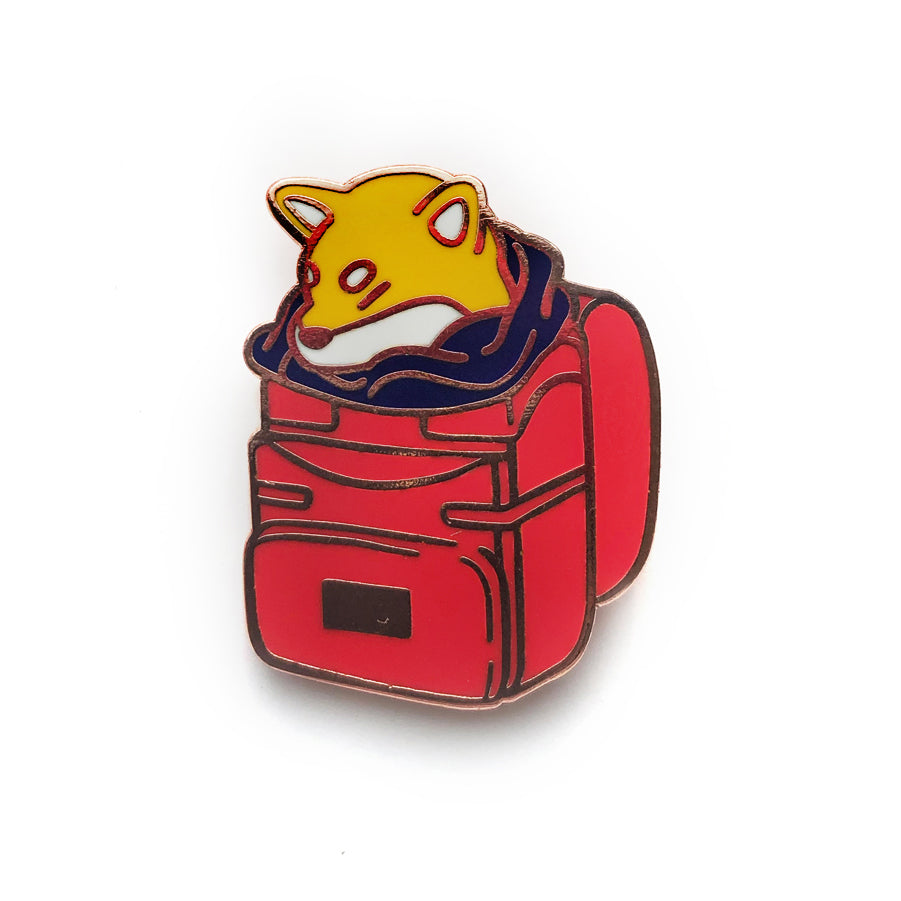 Meyoco - Shibe Backpack Pin