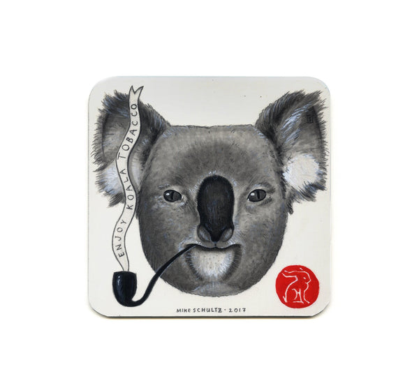 S1 Mike Schultz - Enjoy Koala Tobacco Coaster