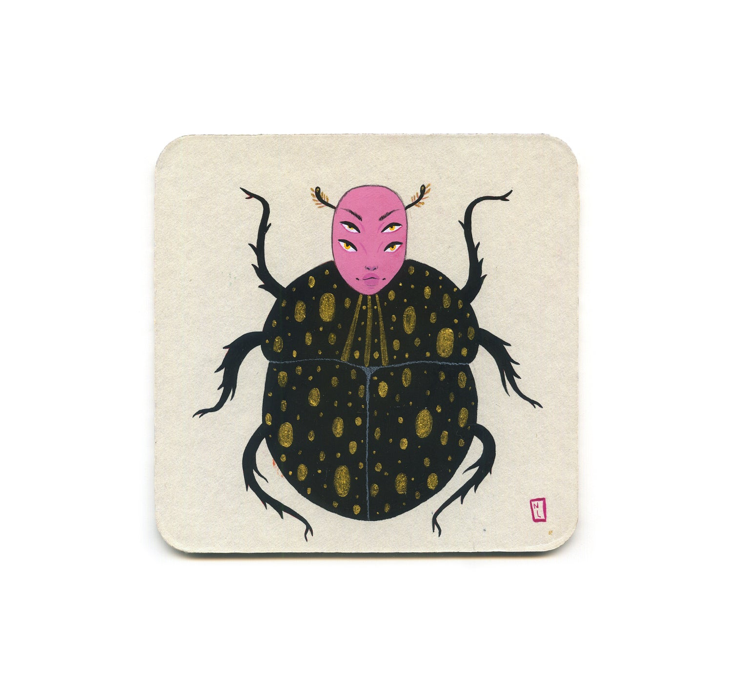 Natasha Lillipore - 1 Coaster