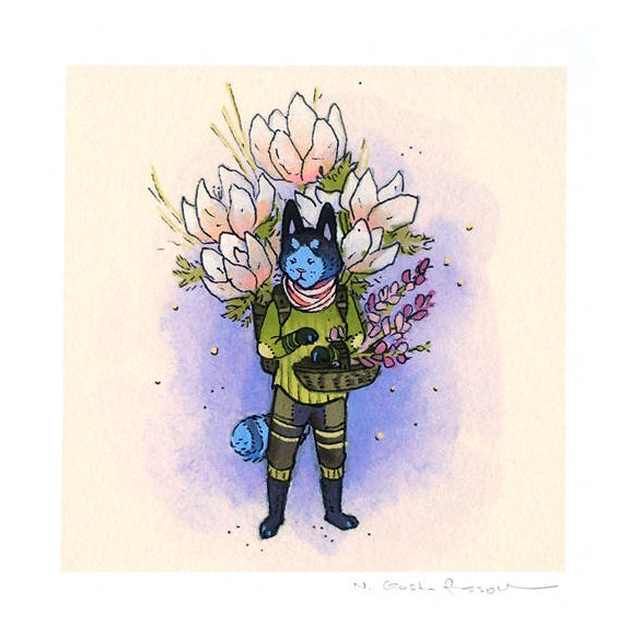 Nicole Gustafsson - Cat Flower Guardian