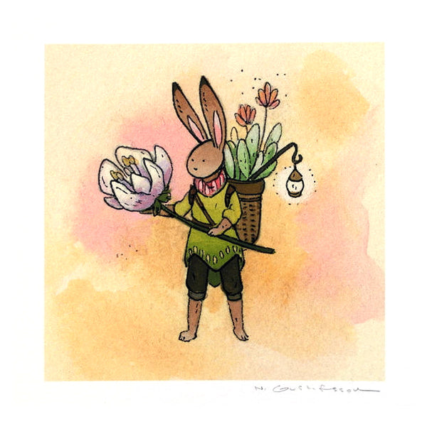 Nicole Gustafsson - Rabbit Flower Guardian