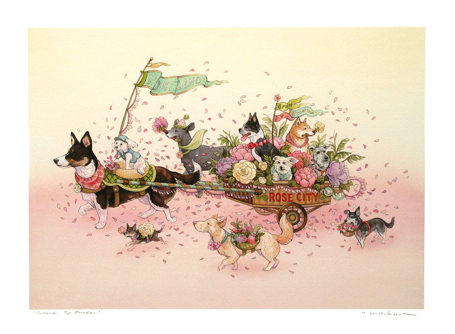 Nicole Gustafsson - Portland Pup Parade (Large/Small)