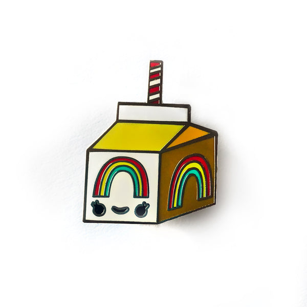 Rainbow Juice Pin
