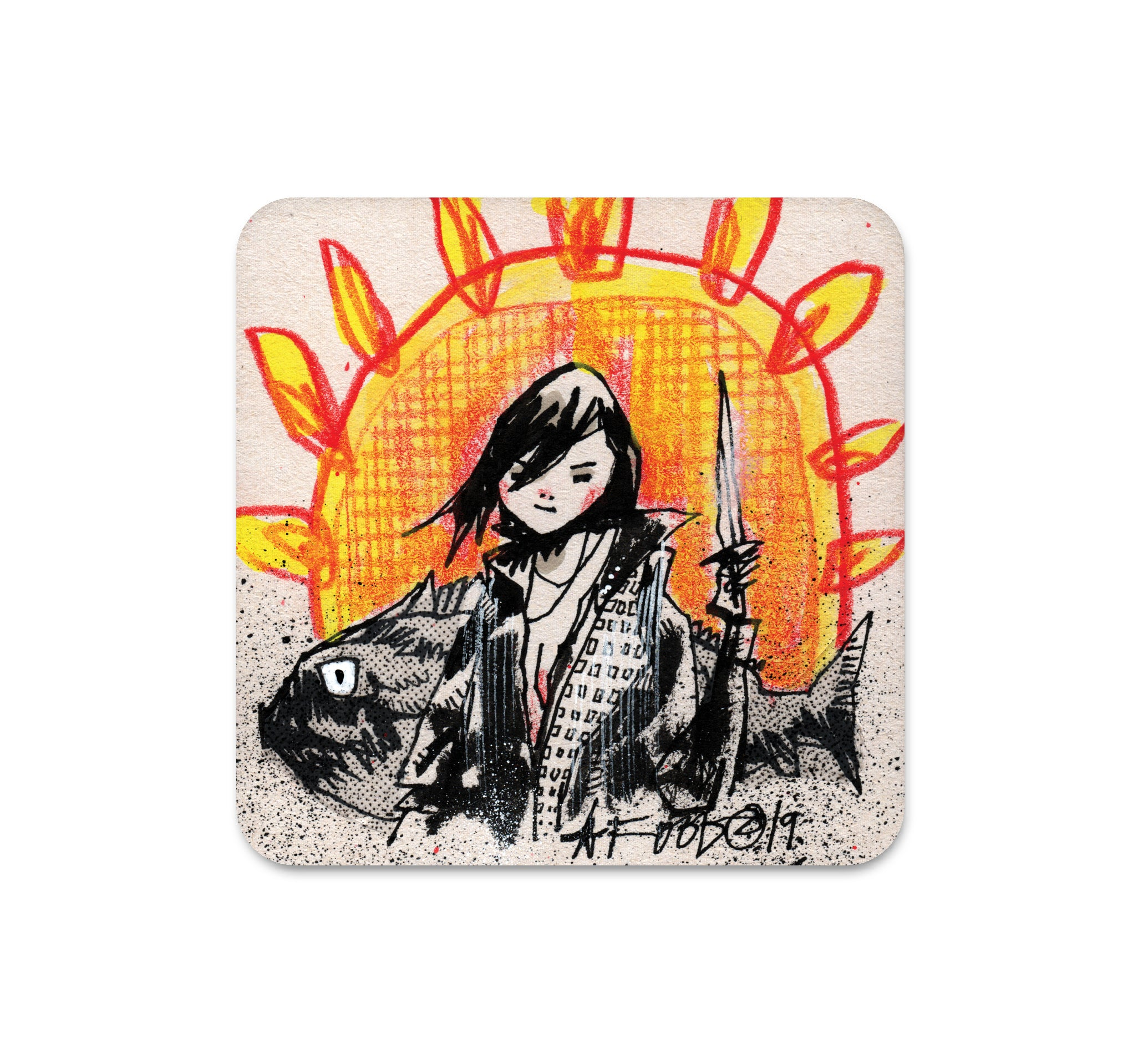 S4 Jim Mahfood - 1 Coaster