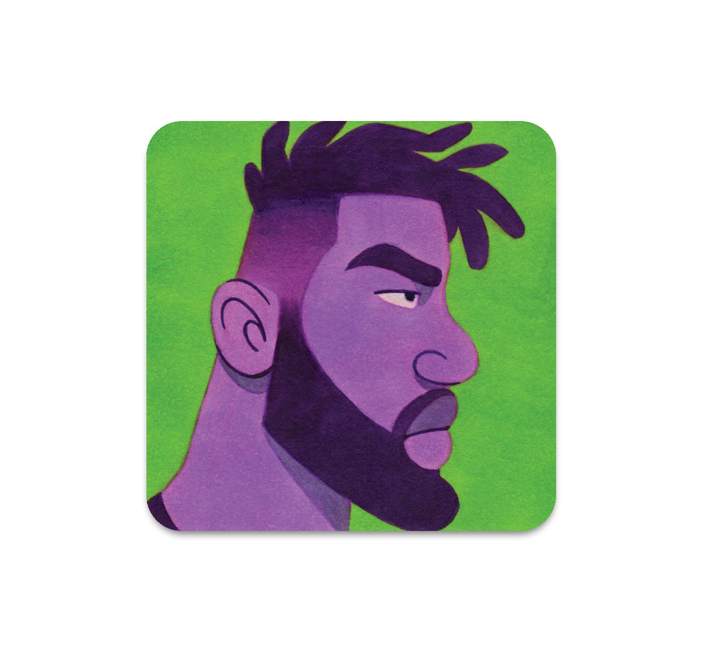 S5 ActionHankBeard - 4 Coaster